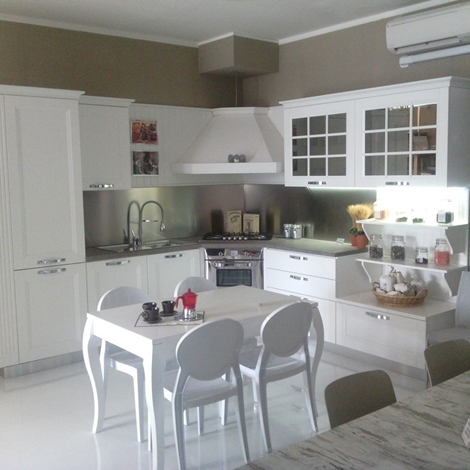 Stosa cucine cucina beverly provenzale legno bianca - Cucina beverly stosa prezzi ...