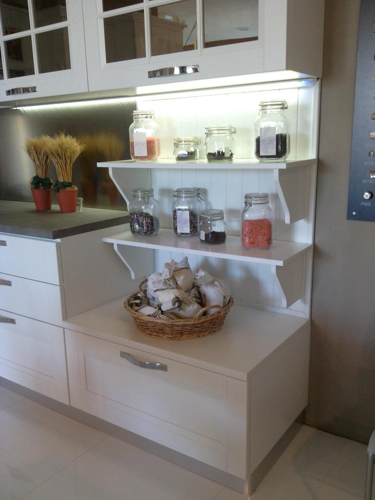 Stosa cucine cucina beverly provenzale legno bianca cucine a prezzi scontati - Ante per cucina prezzi ...