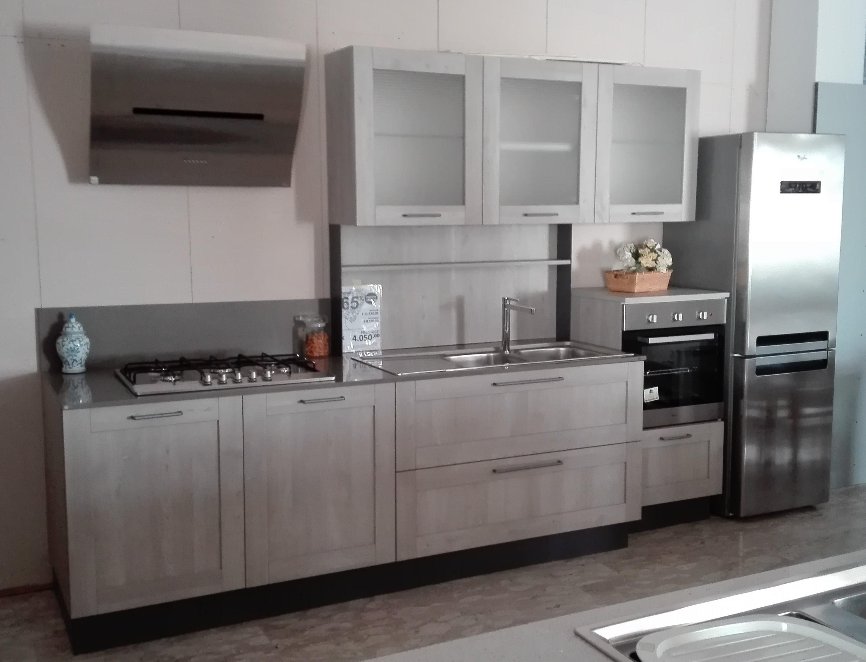 Stosa cucine cucina maya scontato del 65 cucine a - Cucine con frigo esterno ...