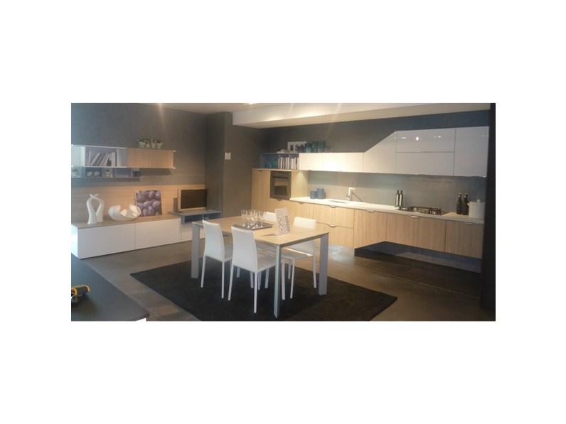 Stosa Cucine Cucina Replay con parete attrezzata scontato del -65 %
