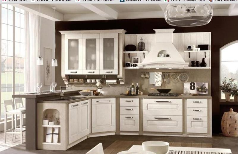 Stosa modello aida sala foto cucine a prezzi scontati for Outlet arredamento vicenza