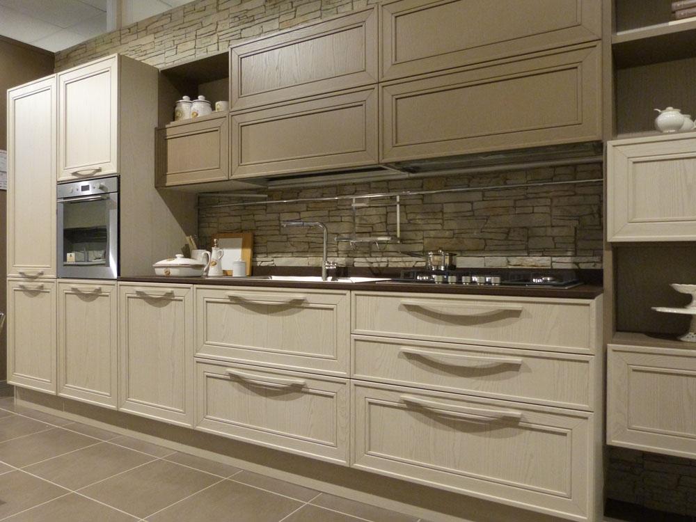 Svendita Cucina modello Elegante in legno frassino - Cucine a prezzi scontati