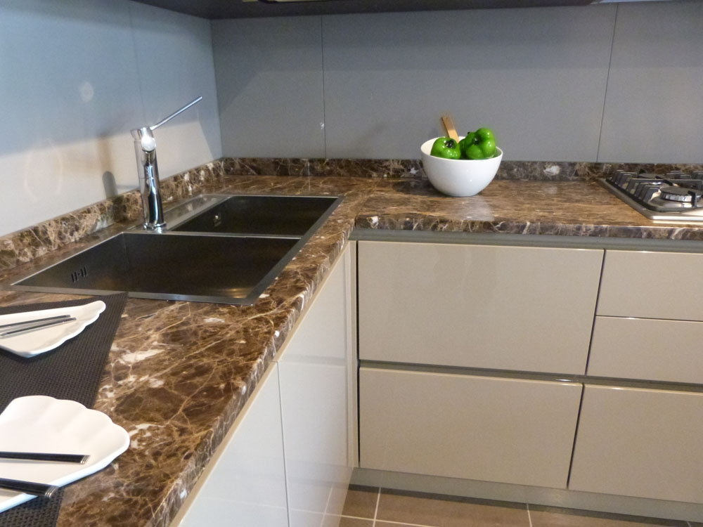 Top cucina in marmo prezzi with top cucina in marmo - Top cucine in marmo ...