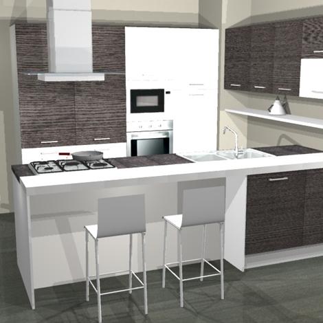 Cucine Moderne Bianche E Grigie