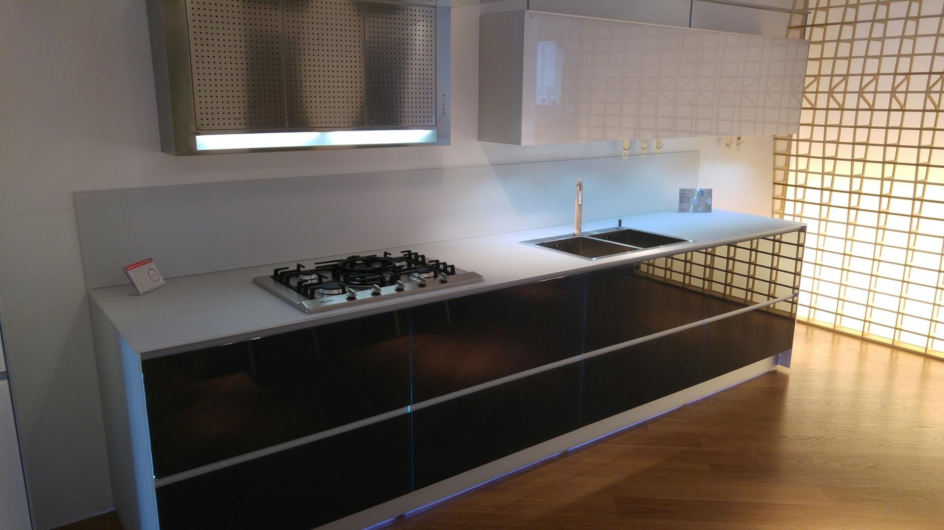 Cucina Artematica Vitrum Valcucine Bianca : Valcucine artematica vitrum scontato del cucine a
