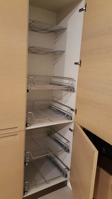 Cucina Minimal Varenna : Varenna cucina minimal rovere sbiancato scontata
