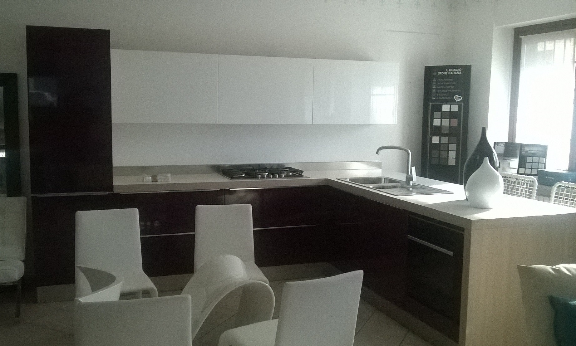 Vendita promozionale cucina con penisola record cucine - Vendita top cucina ...