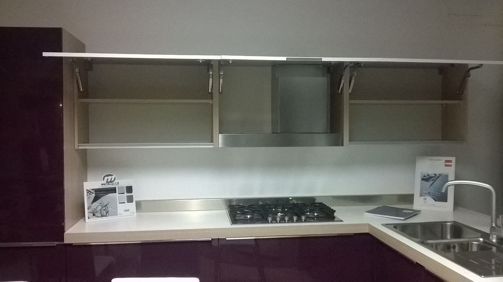 Vendita Promozionale Cucina Con Penisola Record Cucine Moderna  #736858 1632 916 Top Cucina Laminato Pro E Contro