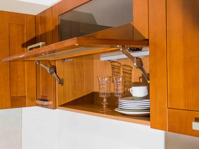 Veneta Cucine Cucina California, colore ciliegio scontato del -68 %