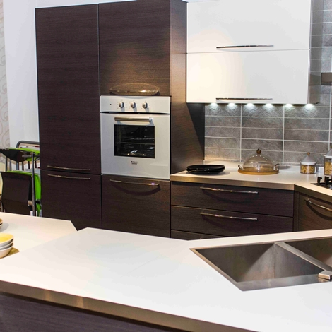 camerette marca veneta : Veneta Cucine Cucina Carrera esasystem scontato del -50 % - Cucine a ...