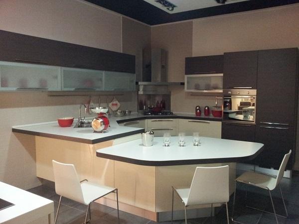 Veneta cucine cucina con penisola scontato del 48 - Penisola veneta cucine ...