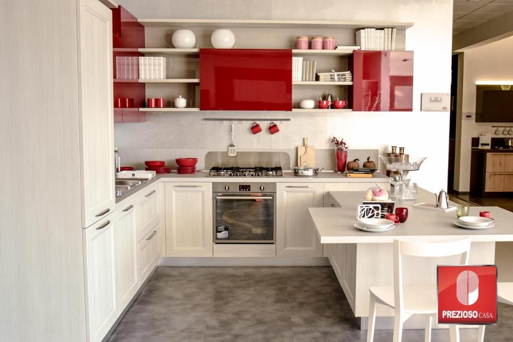 Veneta cucine cucina tablet rov grigio scontato del 50 cucine a prezzi scontati - Prezioso casa cucine ...