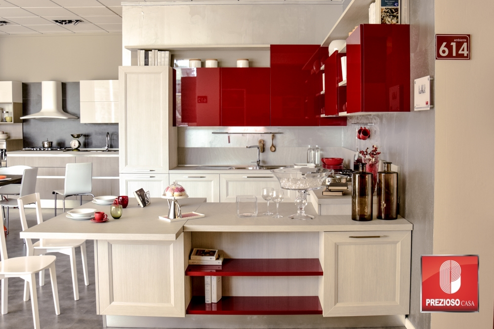 Veneta cucine cucina tablet rov grigio scontato del 50 cucine a prezzi scontati - Cucina veneta cucine ...