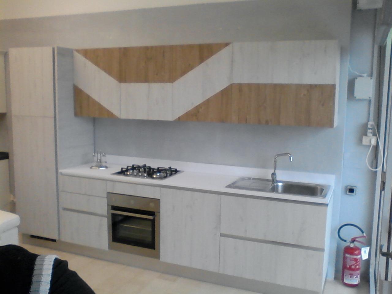 Vismap cucina modello gioia in laminato materico cucine a prezzi scontati - Laminato in cucina ...