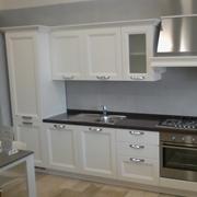 Vismap cucina giulia frassino laccato bianco classica legno bianca - Cucina oceano mobilturi prezzi ...