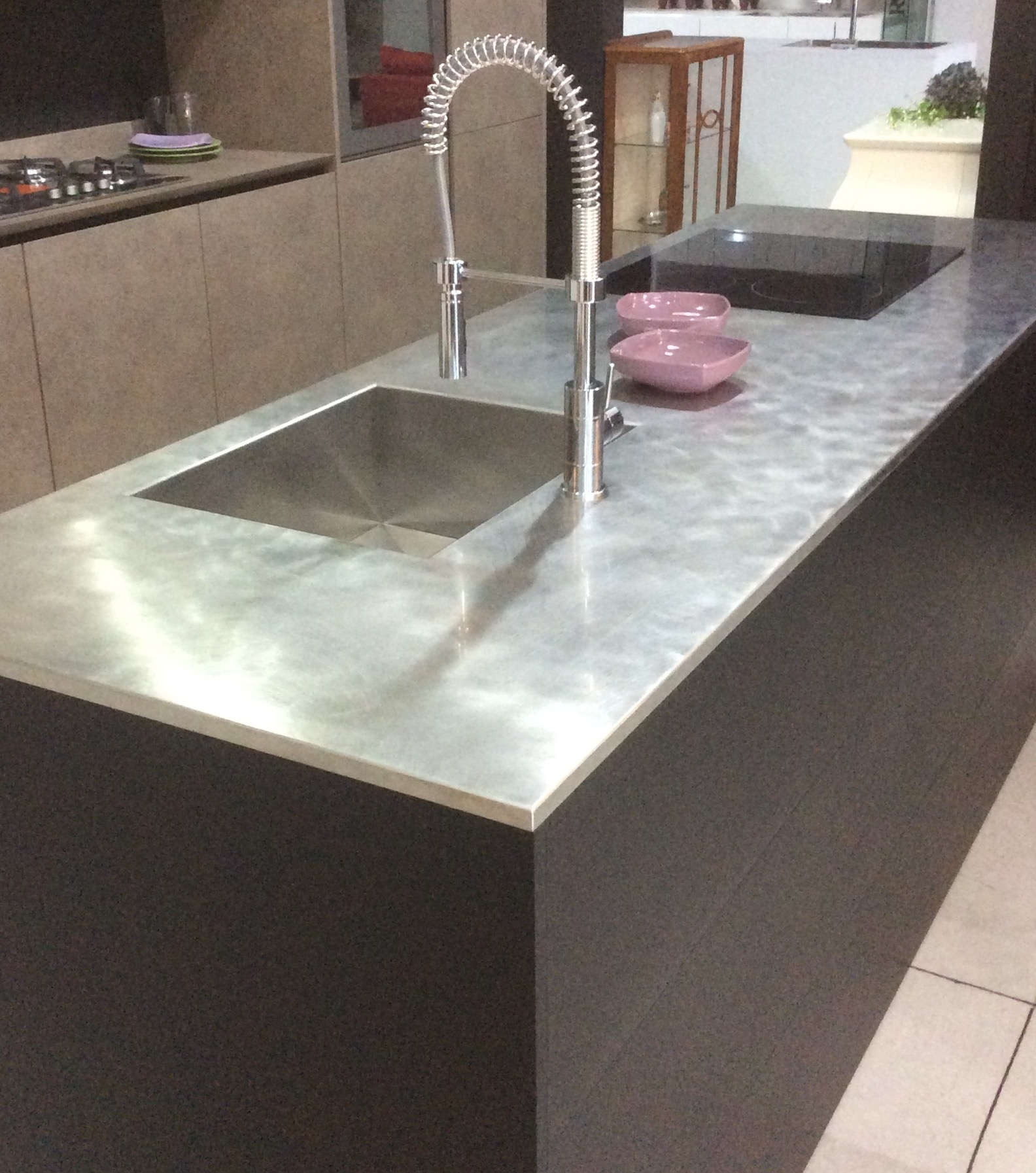Zampieri cucine isola mod cucine a prezzi scontati - Top cucina acciaio prezzi ...