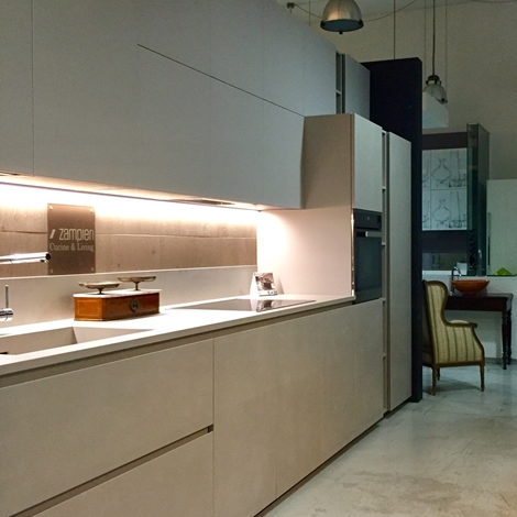 Cucina componibile lineare di due metri - Cucine in kerlite ...