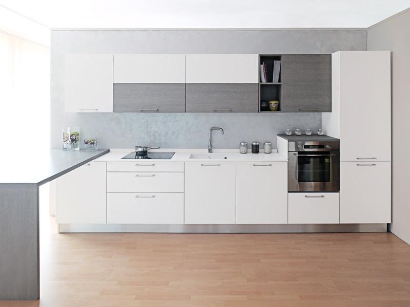 Zecchinon cucina bianca top in quarzo a prezzo di - Top cucina quarzo prezzi ...