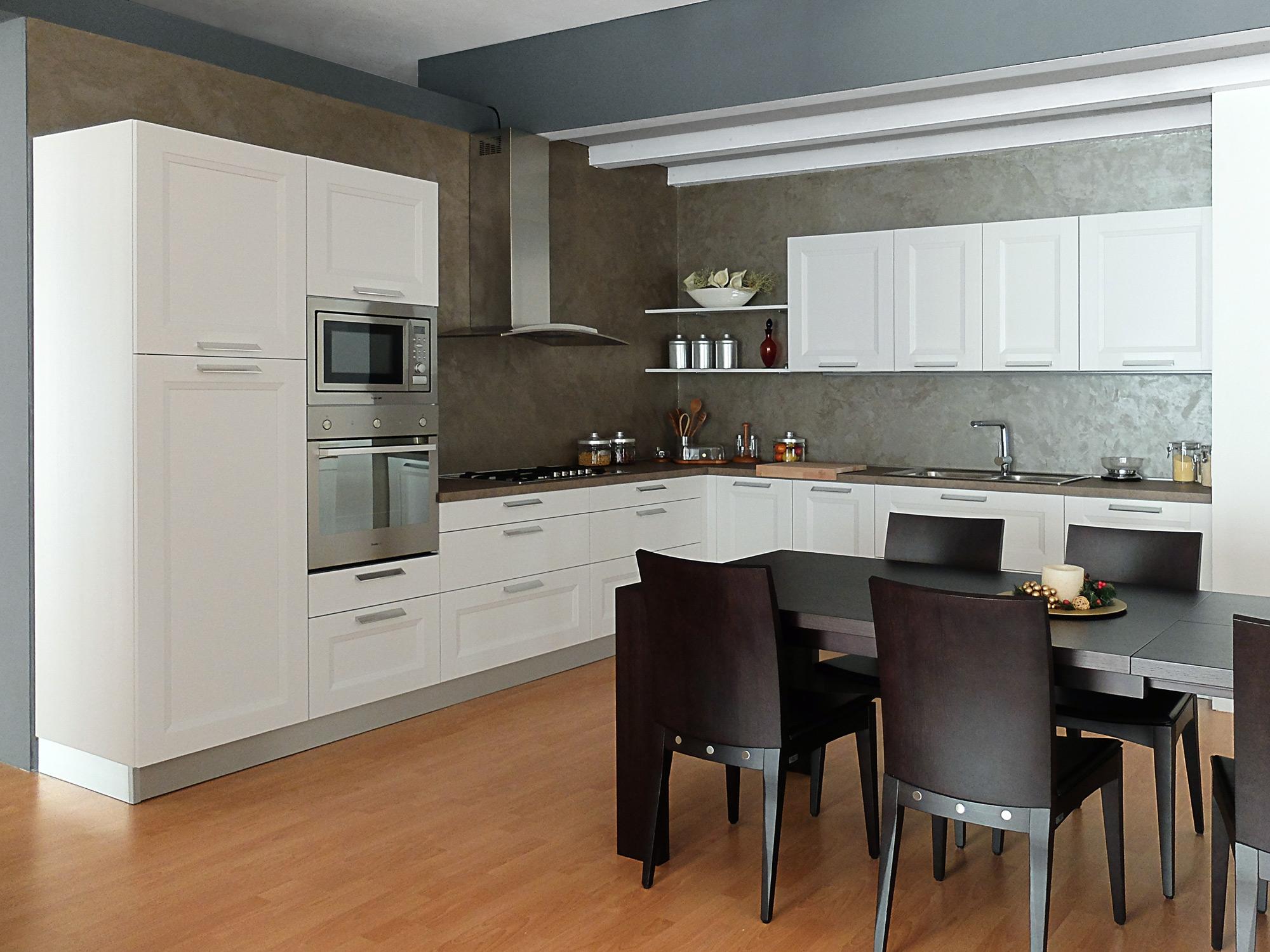 Zecchinon cucina all pine bianca scontata del 50 cucine a prezzi scontati - Cucine zecchinon ...