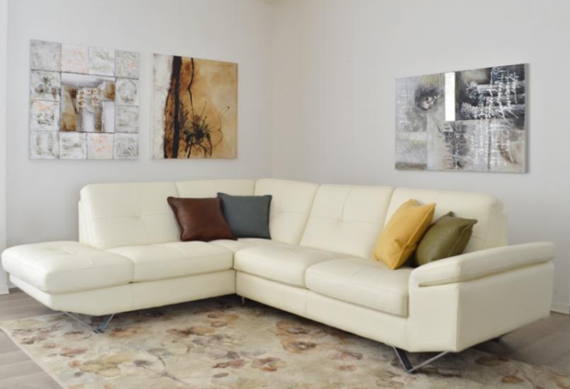 Arredamenti chianese divano in pelle made in italy 4posti for Made in italy arredamenti bertinoro