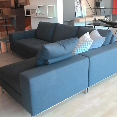 Biba divano avatar divani con penisola tessuto divano 3 for Divano seduta larga