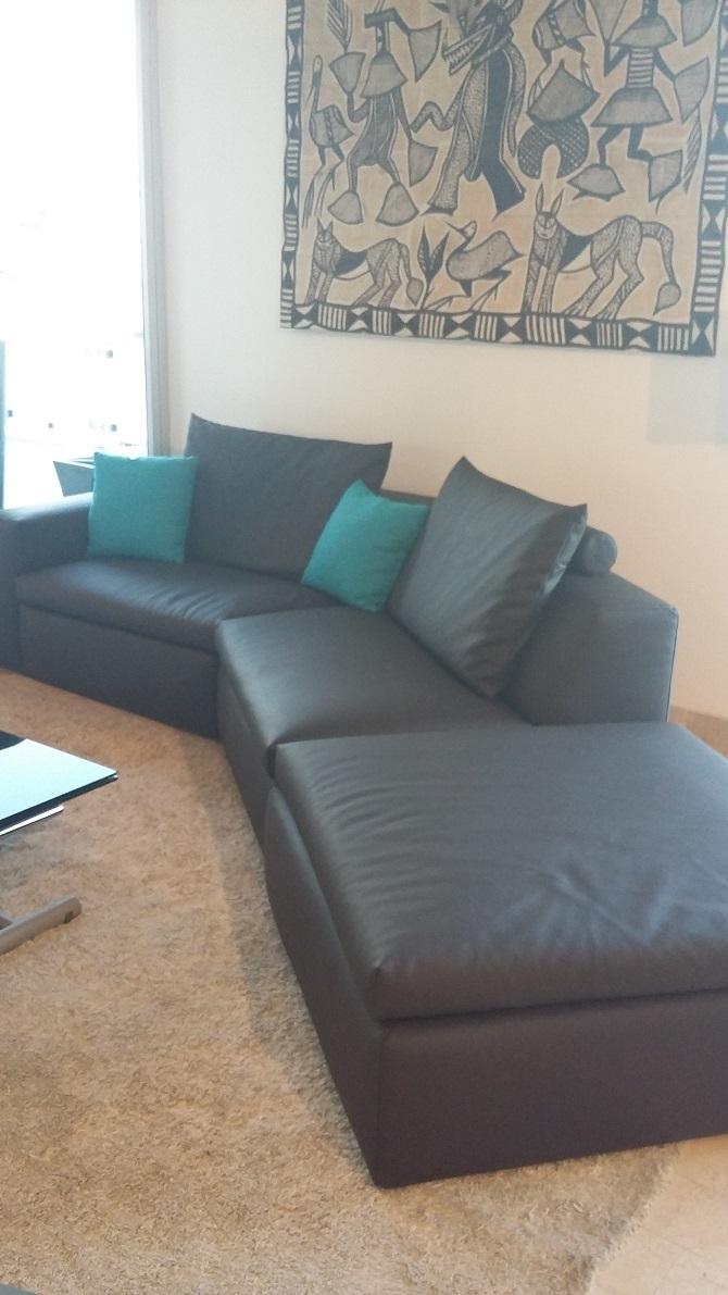 Bontempi divani divano bryan divano angolare ecopelle - Divano ecopelle angolare ...