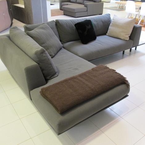 Bontempi divani divano dakota sottocosto tessuto divani a prezzi scontati - Rivestimento divano costo ...