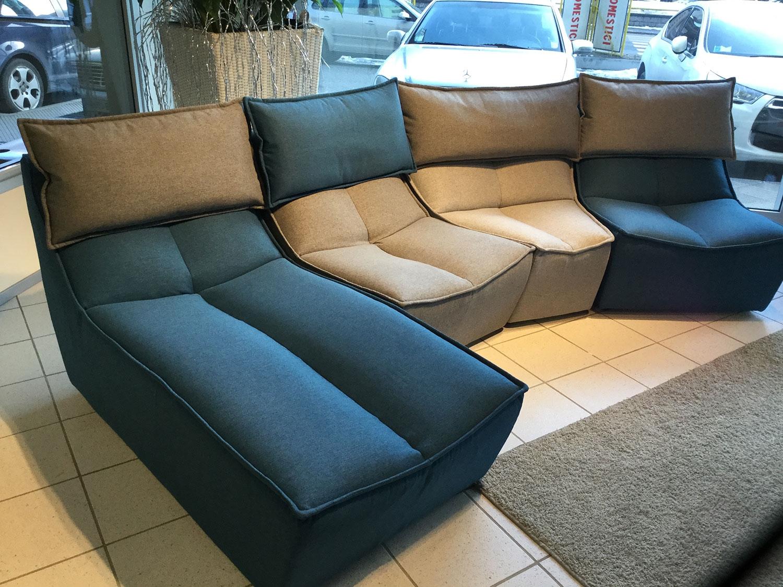 Calia divano hip hop divani lineari tessuto divano 3 posti for Divani componibili prezzi