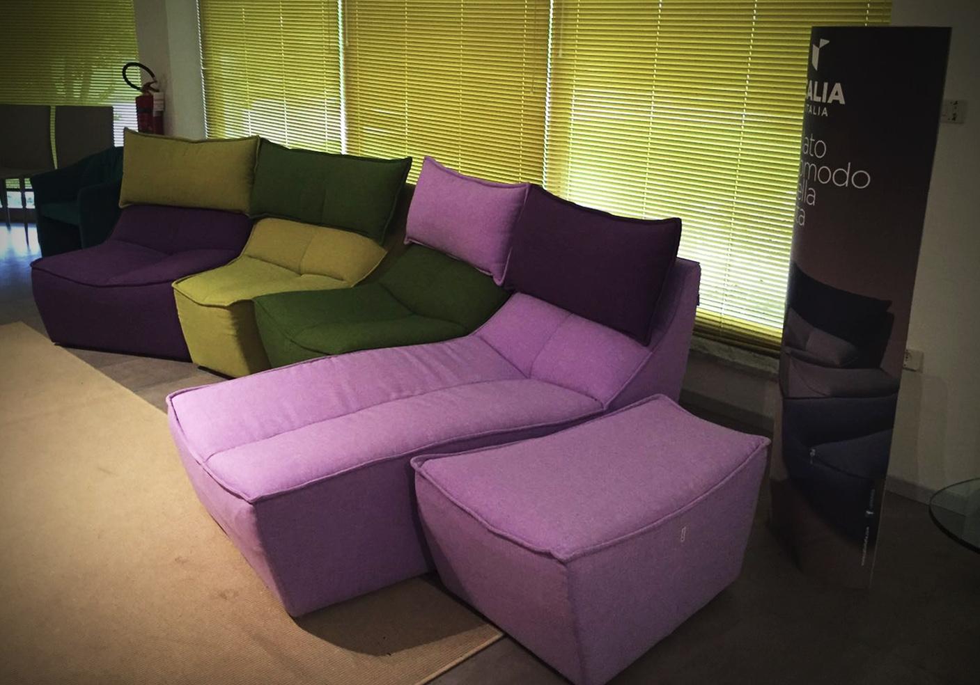 Calia divano hip hop scontato del 49 divani a prezzi for Outlet arredamento divani
