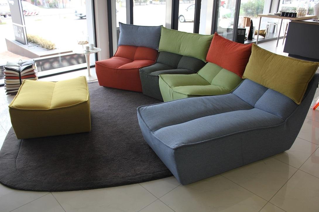 divano calia hip hop tessuto divani a prezzi scontati