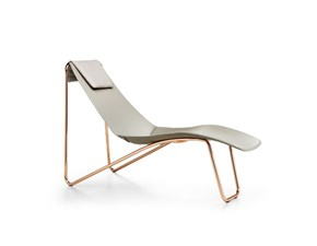 Chaise longue di Designe vero cuoio Diversi colori
