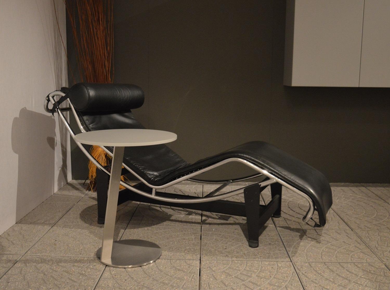 Chaise longue in vera pelle scontata del 50 divani a for Divani in vera pelle