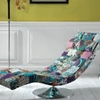 Chaise longue patchwork