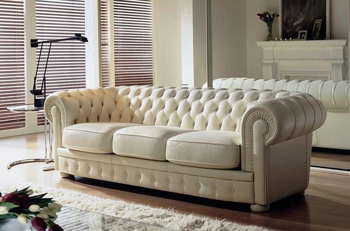 Divani Chester Prezzi : G v salotti divano chester scontato del divani a
