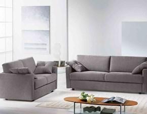 Coppia di divani mod.Astra con letto inserito