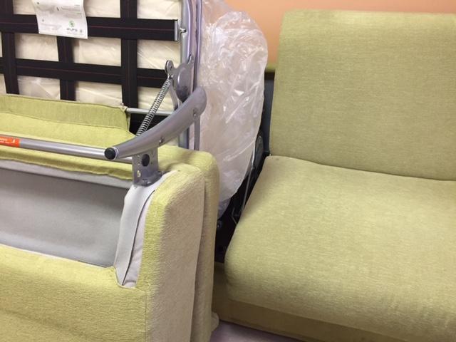 Crippa divani letti divano erica divani letto tessuto for Verdino arredo giardino