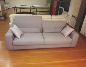 divano a 3 posti moderno con tessuto sfoderabile in offerta