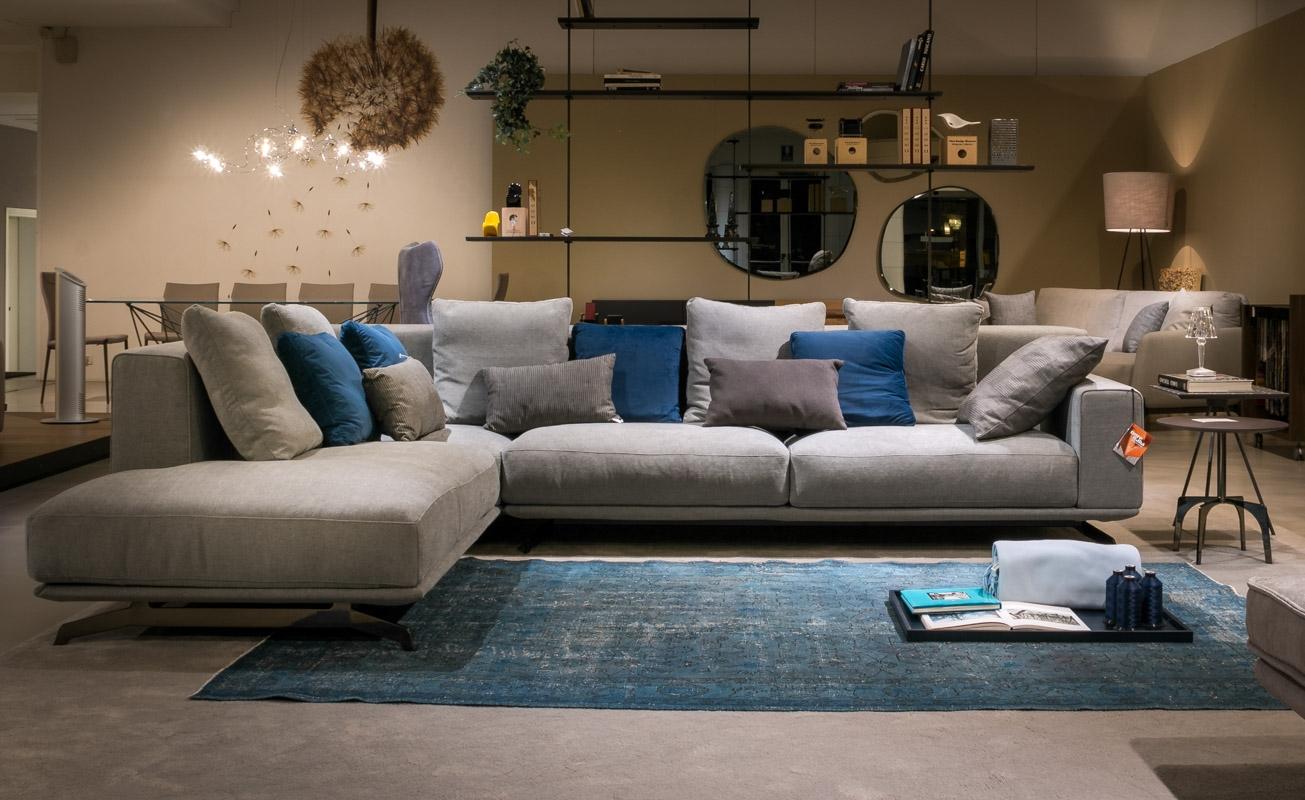 Ditre italia divano dalton soft angolare scontato del 40 for Ditre italia divani
