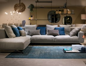 Ditre Italia divano dalton soft angolare scontato del 40%