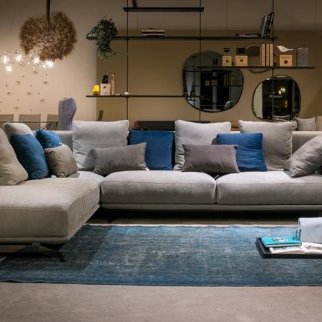 Ditr italia divano dalton soft scontato del 40 divani for Comprare divano