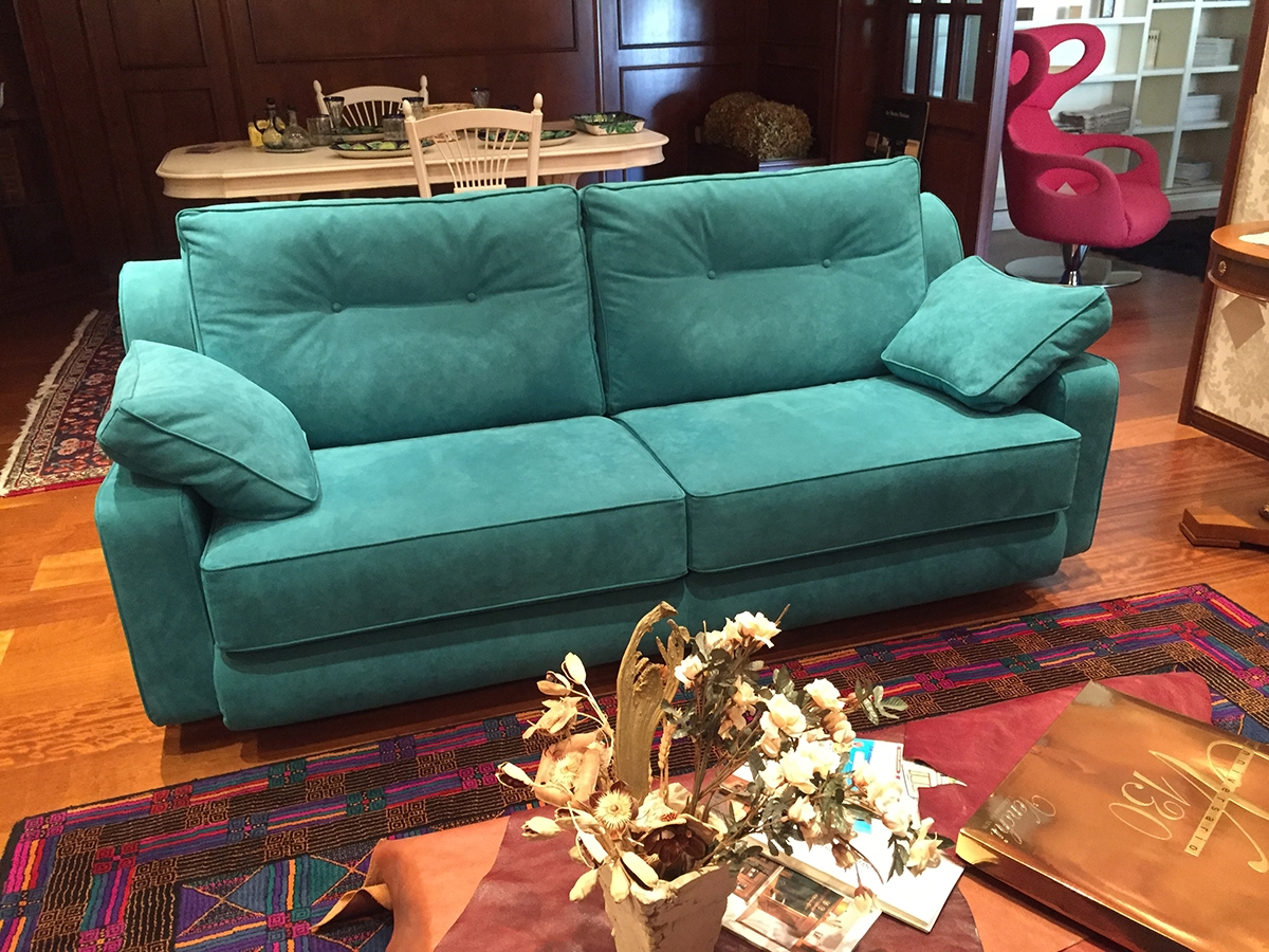 divani biba salotti a 2 e 3 posti in tessuto alcantara