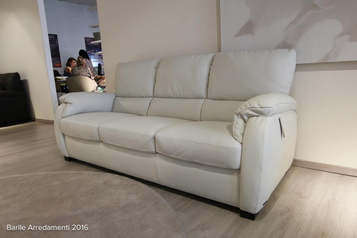 divani divani by natuzzi divano chass in pelle scontato