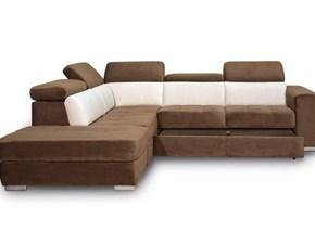 Divani letto con penisola Art.132 divanoangolare  microfibra serie km Collezione esclusiva ad un prezzo vantaggioso