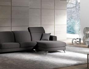 Divani letto con penisola Divano mod.derek con chaise-longue in promo-sconto del 50% Excò: SCONTO ESCLUSIVO