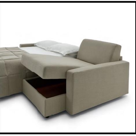 Divani letto con chaise longue in promozione divani a - Divani letto divani e divani prezzi ...