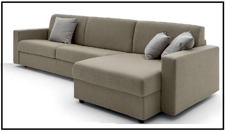 Divani letto con chaise longue in promozione divani a - Divani letto in offerta ...