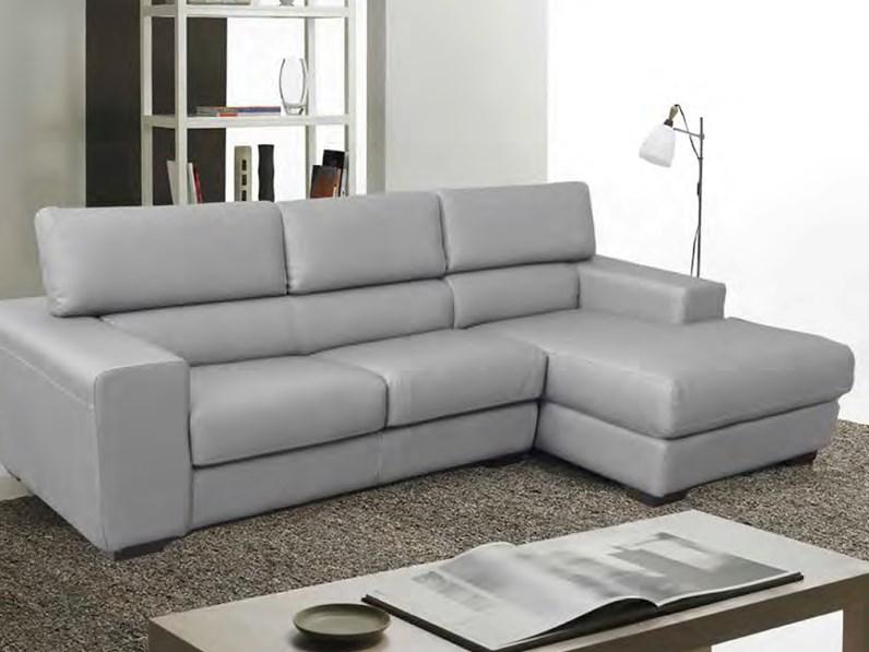 Divano divano box in pelle divani con chaise longue pelle for Divani larghezza 150 cm