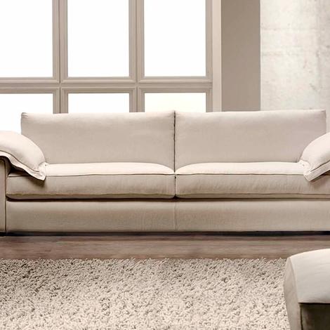 Divano sfoderabile con rivestimento in lino divani a - Costo rivestimento divano ...