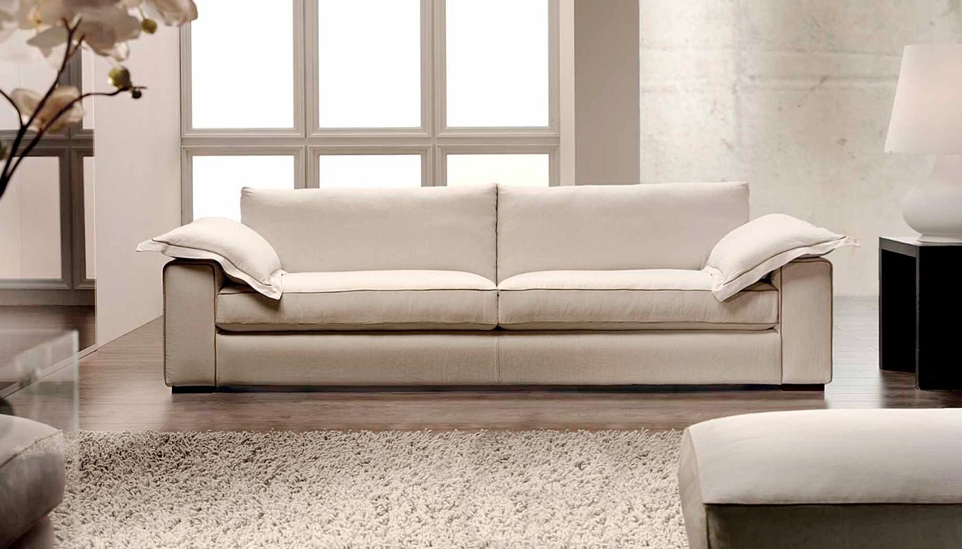 Divano sfoderabile con rivestimento in lino divani a prezzi scontati - Tessuto rivestimento divano ...