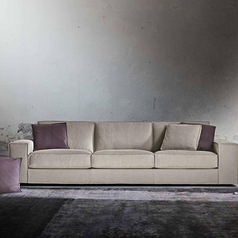 Divano a 3 posti design by gurian modello in tessuto for Divano 7 posti prezzo